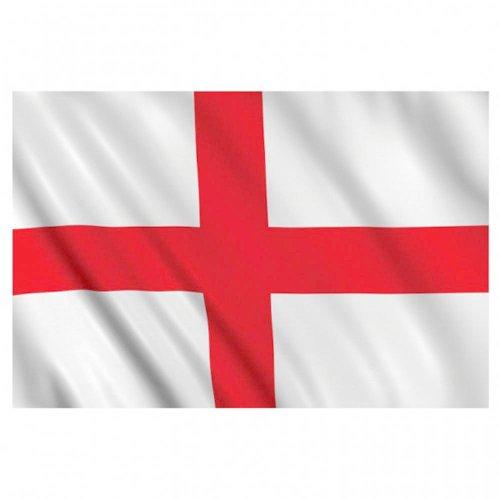 Supportershop Angleterre - Banderín de córner para fútbol, Color Azul/Rojo/Blanco, Talla 1,50 x 0,90 m