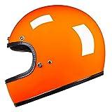 Casco de motocicleta vintage Cafe Racer de cara completa retro casco de Moto DOT aprobado Capacete Jet Helm moto 3 M