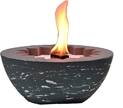 Balkonfeuer Stern mit Dauerdocht zum Wiederbefüllen mit Kerzenresten- kostenfreier Versand