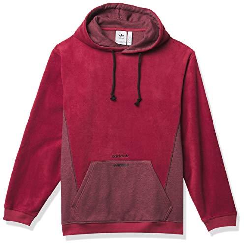 adidas Originals R.Y.V. Sudadera con capucha para hombre - rojo - X-Small