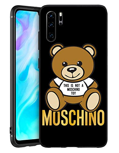 Cover Huawei P30 PRO, Caso Custodia in Morbida Silicone TPU per Huawei P30 PRO (This Is Not A Moschimo Toy)