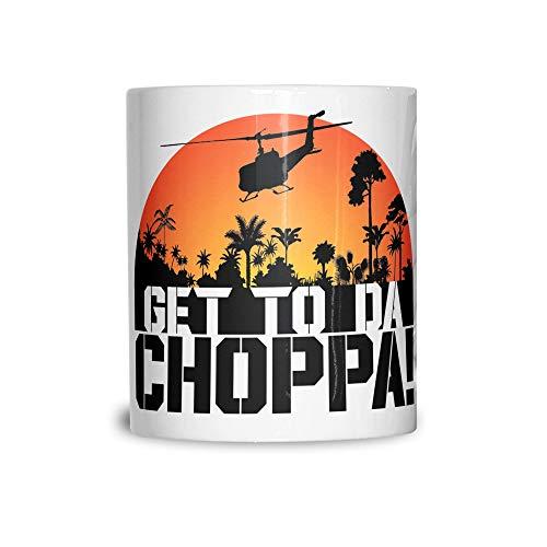 Get to Da Choppa Preadator Scene Mug Gift