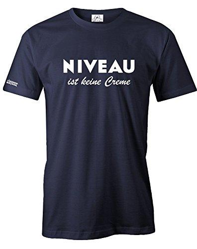 Jayess NIVEAU IST KEINE CREME - HERREN - T-SHIRT in Navy by Gr. M
