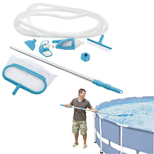 Intex Deluxe Pool Maintenance Kit - Poolzubehör - Pool Reinigungsset - 5-teilig