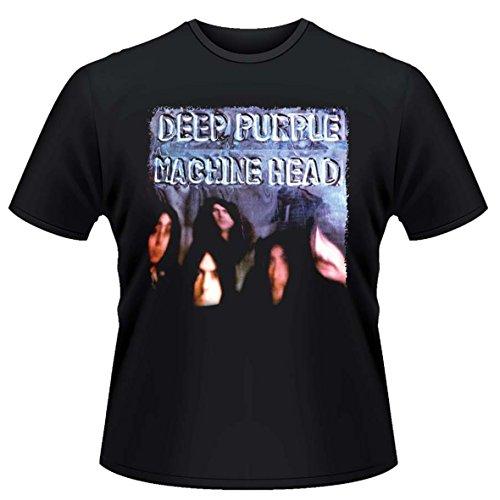 Deep Purple Herren T-Shirt, Gr. Large, Schwarz