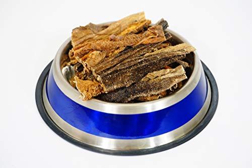 DD-Tackle 250 g de panses d'agneau - Articles à mâcher comme panse de bœuf - Oreilles d'agneau - Friandises pour chien - Barf - Agneau - Panse