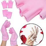 sumifun Feuchtigkeitsspendende SPA Gel Socken Handschuhe