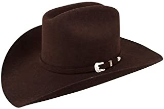 6f42d95c72f14 Stetson Men s 3X Oakridge Wool Cowboy Hat - Swoakr-724007 Black
