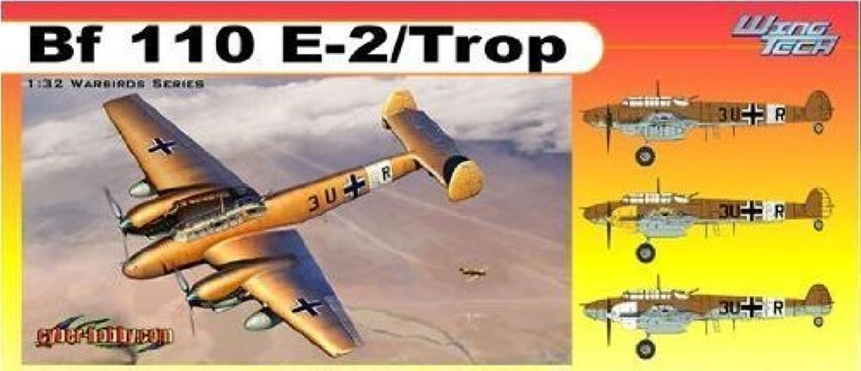 Cyber Hobby Models Messerschmitt BF110E2 TropWing Tech Series (1 32 Scale)