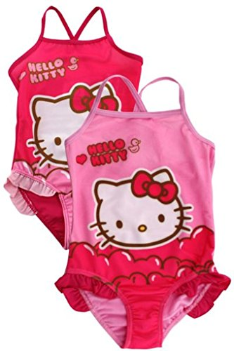 Hello Kitty – Bañador Niña Color Rosa Rosa Oben dunkelrosa