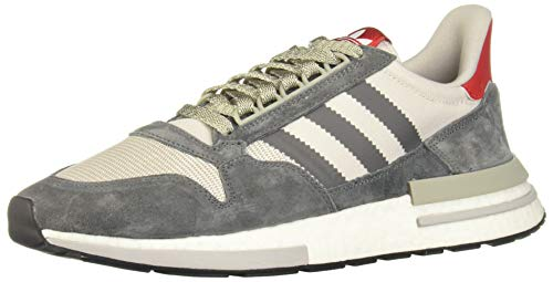 adidas Men's Zx 500 Rm Fitness Shoes, Grey (Gricua/Ftwbla/Escarl 000), 9.5 UK