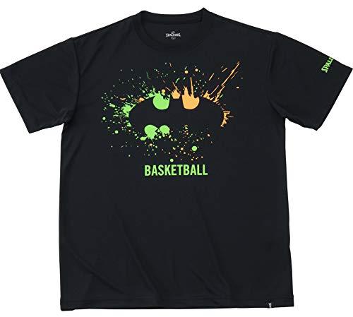 バスケットボール ウェア Tシャツ バットマン スプレー ブラック Mサイズ SMT191330 バスケ バスケット SMT191330 M