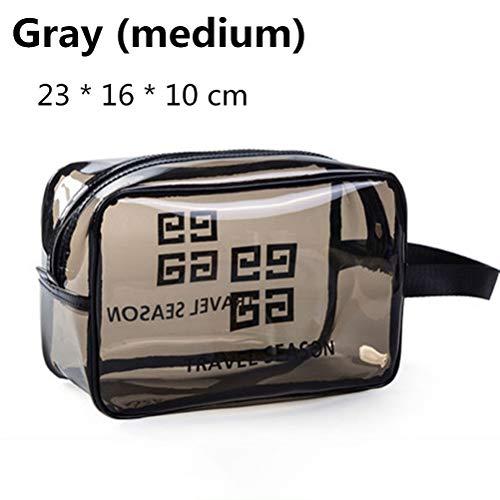 6P6 Net Red Cosmetic Bag Ins Wind Super Portable Femme Voyage Feu Grande Capacité De Lavage Transparent Sac Étanche Boîte De Rangement Sac,A2