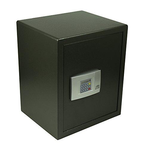 BURG-WÄCHTER Möbeltresor mit elektronischem Zahlenschloss, Point-Safe, 72,8 l, 25,5 kg, P 4 E, Schwarz