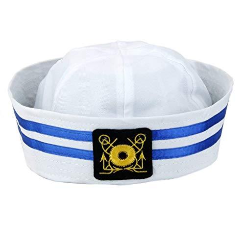 Aofocy Erwachsene Yacht Kapitän Sailor Kappe