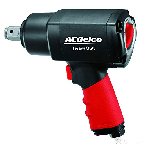 Find Discount ACDelco 3/4 Composite Air Impact Wrench Pneumatic Tools, 650 ft-lbs Twin Hammer, ANI6...