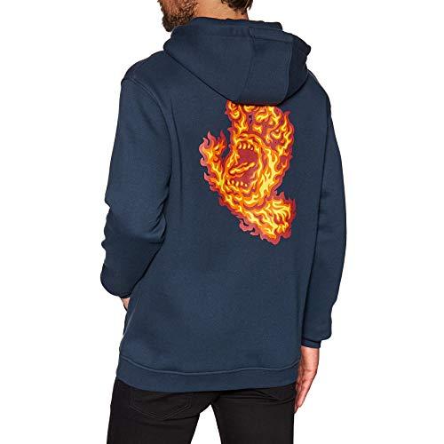 Santa Cruz, Flame hand hood, Dark navy