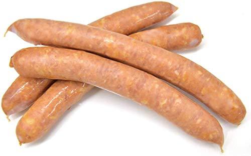 グルメソムリエ ホットドック用あらびきソーセージ スモークウインナー イベリコ豚入り 羊腸 粗挽き (ロングウインナー 60g×4本 1セット)
