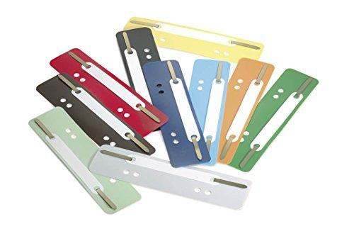 Durable 690100 Heftstreifen Flexi, 1 Packung à 250 Stück, farbig sortiert