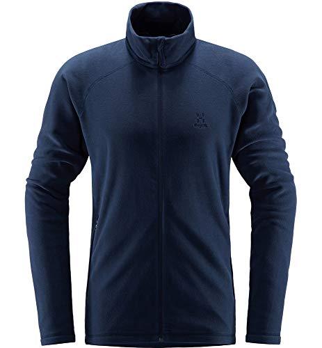 Haglöfs Fleecejacke Herren Fleecejacke Astro Jacket Men wärmend, atmungsaktiv, Stretch beweglich Small Tarn Blue L L
