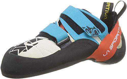 La Sportiva Otaki, Zapatos de Escalada para Hombre, Multicolor (Blue/Flame 000), 44...