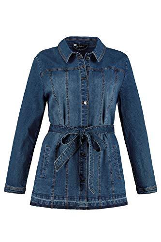 Ulla Popken Damen große Größen Jeansjacke Blue Denim 46 727288 92-46