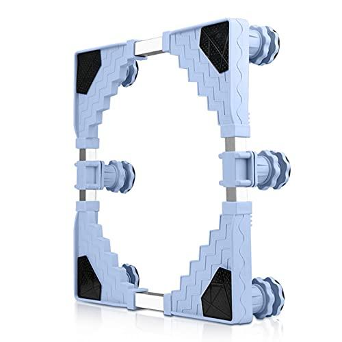 Soporte Lavadora Base Para Lavadora, Base Ajustable Multifunciona,Adecuado Para Refrigerador& Lavadora Soporte de Base, largo 76-96cm; ancho 38-51cm; altura 9-13cm(Color:Length 83-95cm)