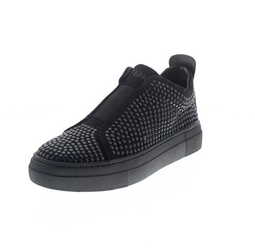Sneaker Mid Cafè Noir DB922 con multiborchie in microfibra scarpe donna 38