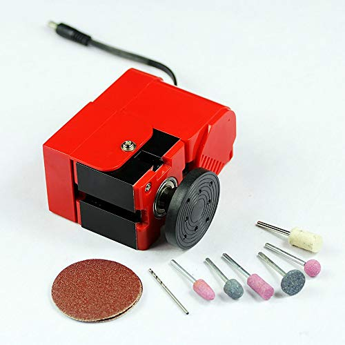 Lowest Prices! Mini Lathe Machine 6 in 1 DIY Metal Lathe, 12V Multifunction Miniature Metal Lathe Ma...