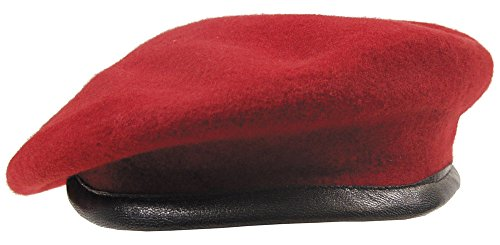 Béret Commando import rouge Größe 61
