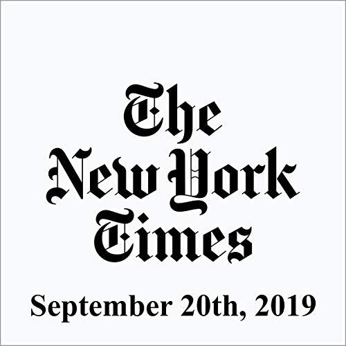 September 20, 2019 cover art