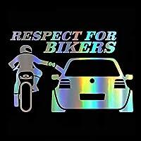 ステッカー 20 * 13cm車のステッカーとステッカーの興味深いオートバイの車のモデリング (Color : Multi-colored, Größe : 2pcs)