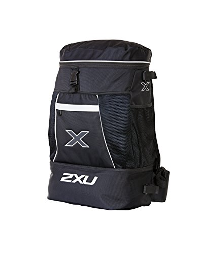 2XU Transition Mochila, Unisex Adulto, Negro, 110