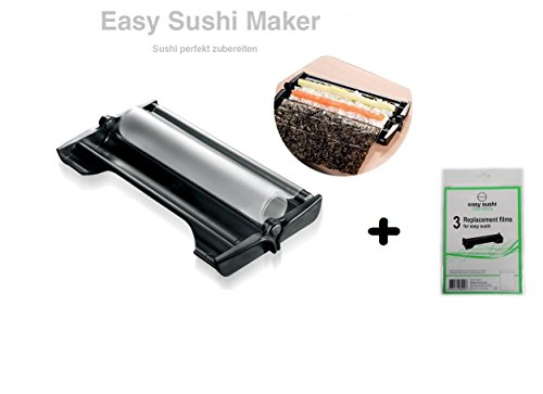 Easy Sushi Maker SushiRoller Ø 3,5 Cm + 3He fogli set sostituzione gratuita