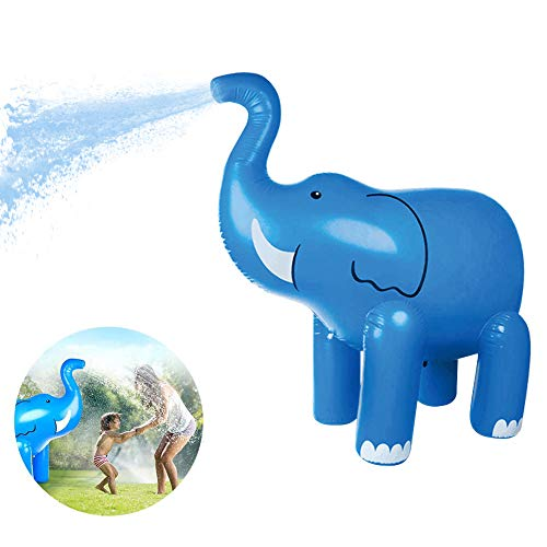 FDYD Aerosol Inflable de PVC Agua de riego Elefante conveniencia muñeca de interacción Entre Padres e Hijos al Aire Libre de Agua de Juguete Que Nada Suministros