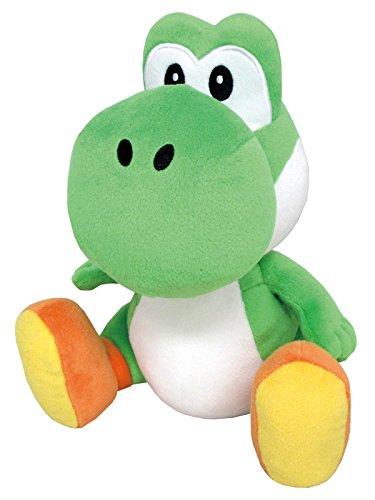Little Buddy 1585 Super Mario All Star Collection - 1585 - Yoshi Medium Stuffed Plush, 10',Multicolor
