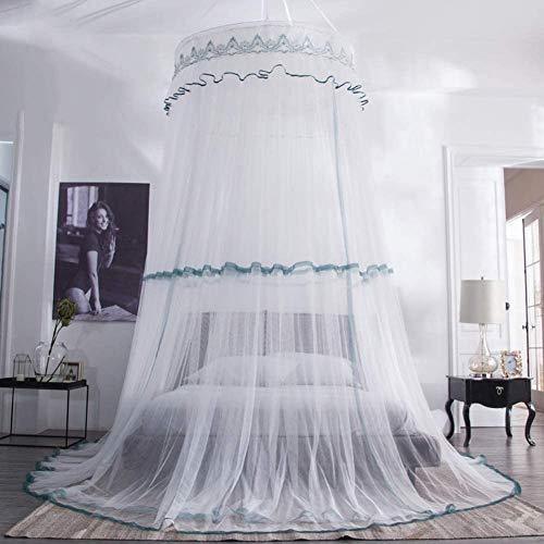 Moskitonetz, Bettwäsche, Moskitonetz, Bettbezug, Zelt, doppelt, super groß, geeignet für Haus im Freien, Grau,Green