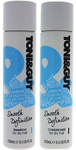 Toni & Guy Cleanse & Nourish Shampoo & Conditioner For Dry Hair - 250Ml Each by Toni & Guy