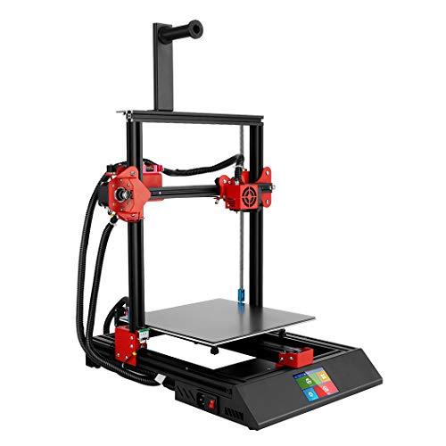 Stampante 3D M09, touch screen da 3 '' e supporto di alimentazione certificato UL PVA TPU ABS PLA, stampante ad alimentazione diretta fai-da-te FDM 11,8 '' x 11,8 '' x 15,7 '' (M09)