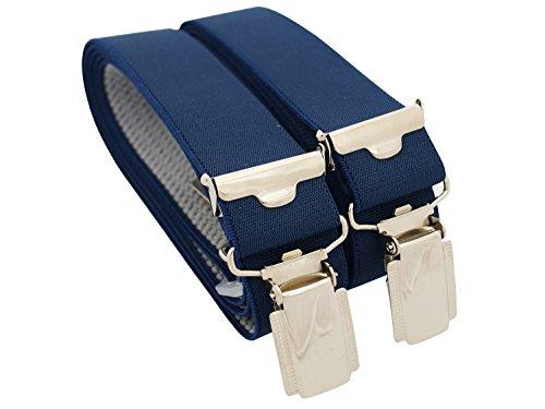 Xeira - Bretelles de haute qualité pour Femmes avec 4 fort clips dans 15 Couleurs - Fabriqué en...