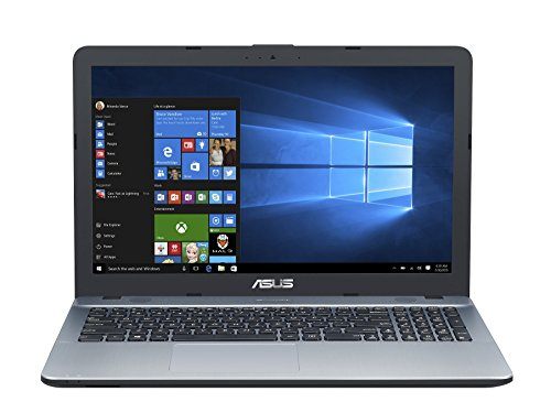 Asus F541UA-GQ1824T 39,62 cm (15,6 Zoll mattes HD) Laptop (Intel Core i3-6006U, 8GB RAM, 256GB SSD, HD Graphics, Win10 Home) silber