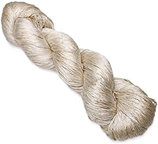 Paradise Fibers Undyed Silk Yarn 20/2-100% Mulberry Silk Undyed, 100 Grams & Approximately 1,000 Yards