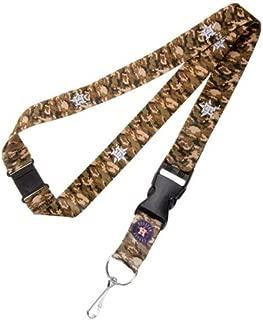 aminco Houston Camo Lanyard Keychain Badge Holder