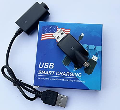 USB-Ladekabel,EVod, Ego-T-Ladegerät, Ladekopf für 510-Gewinde-Akku, USB-Schnellladegerät, Integrierter Überladeschutz, Kabel zum Laden Ihrer E-Zigarette