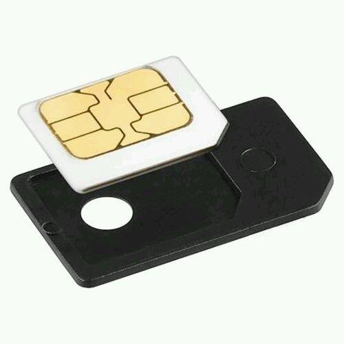 Micro SIM Card Adapter, Black