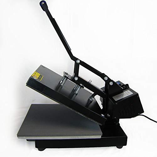 HobbyCut AA1-S Transferpresse 38cm x 38cm Textilpresse 2000 Watt Modell 2016 - 9