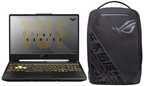 ASUS TUF Gaming F15 FX566LH-HN008T Laptop with ROG BP1501G 15.6-inch Backpack