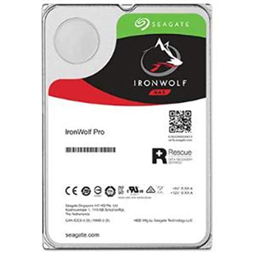 Seagate IronWolf Pro 2TB NAS Internal Hard Drive HDD - 3.5 Inch SATA 6Gb/s 7200 RPM 128MB Cache for RAID Network Attached Storage, Data Recovery Rescue Service (ST2000NE0025)