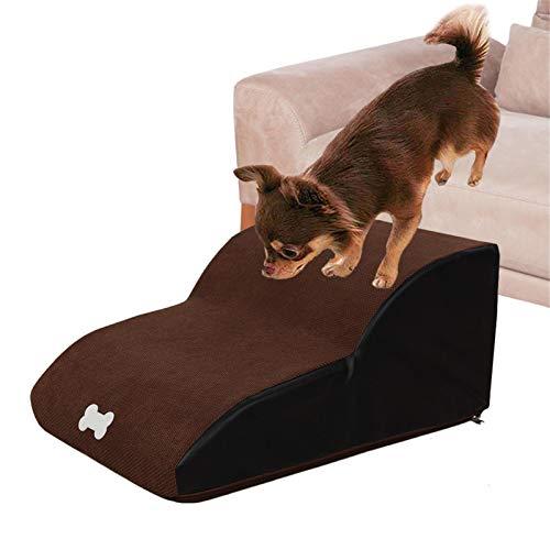 Escaleras Para Mascotas Para Perros Y Gatos, Prácticos Escalones De Escalera Para Sofá Cama Con Rampa De 2 Capas Para Camas Altas Y Sofás, Fondo Antideslizante, Oso 55 Kg, Adecuado Para La Mayoría