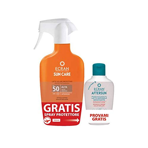 Ecran 2er SET PROMOTION - Sun Milk Spray SPF50 300ml + After Sun Milk 100ml